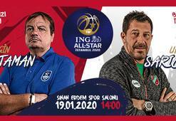 ING All-Starda Ergin Ataman ile Ufuk Sarıca görev yapacak