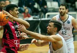 Beşiktaş Sompo Sigorta: 80 - Telekom Baskets Bonn: 76