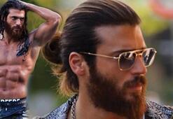 Can Yaman saçlarını ve sakalını kesti İşte yeni hali...