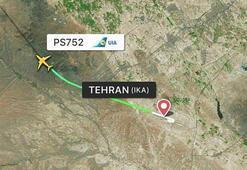 İranda yolcu uçağı düştü