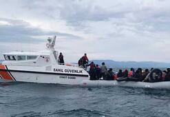 Çanakkalede 92si çocuk, 193 kaçak göçmen yakalandı