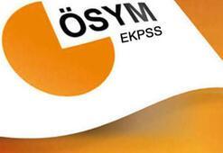 EKPSS tercih sonuçları ne zaman açıklanacak Sonuçlar açıklandı mı