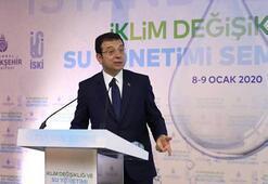İmamoğlu, İklim Değişikliği ve Su Yönetimi Sempozyumunda konuştu