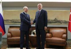 Cumhurbaşkanı Erdoğan - Putin zirvesi başladı