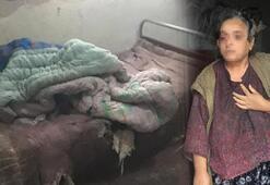 Kötü kokular gelen evdeki anne ve oğlu tedavi altına alındı