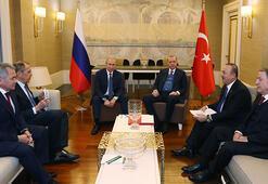 Son dakika Erdoğan ve Putin açılışın ardından tekrar bir araya geldi