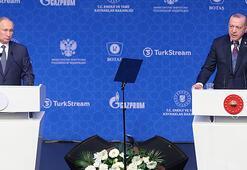 Son dakika... Cumhurbaşkanı Erdoğan ve Putinden ortak açıklama