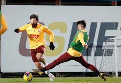 Galatasaray hazırlıklarını sürdürdü Luyindama ve Ryan Babel...