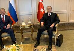 Hulusi Akar, Rus mevkidaşıyla görüştü