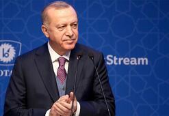 Cumhurbaşkanı Erdoğandan TürkAkım Projesine ilişkin paylaşım