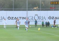 Aytemiz Alanyaspor: 2 -Partizan Tiran: 1 (Hazırlık Maçı)