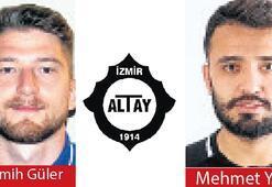 Altay, listesine Mehmet ve Semih'i aldı