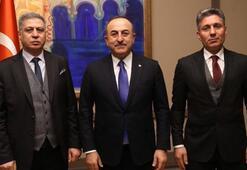 Dışişleri Bakanı Çavuşoğlu Türkmen lider Salihi ile görüştü