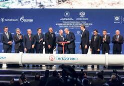 TürkAkım'da vana açıldı |  Gaz akışı başladı