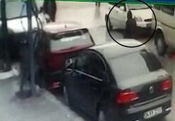 Kırıkkalede feci kaza Kamyon kadının üstünden geçti