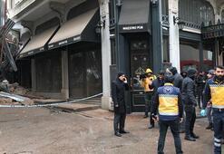 Son dakika... İstanbulda inşaat halindeki bina çöktü