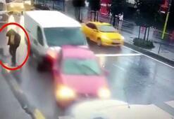 İnanılmaz kazada ölümden saniyelerle böyle kurtuldu