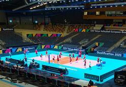 A Milli Kadın Voleybol Takımı, Belçika maçına hazırlanıyor