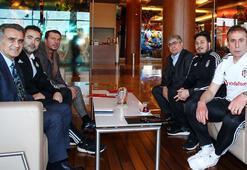 Şenol Güneş, Beşiktaş ve Trabzonspor kampını ziyaret etti