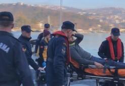 Kilyos açıklarında balıkçı teknesi ile tanker çarpıştı