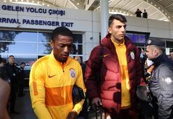 Galatasaray, Antalyada Terime büyük ilgi, taraftardan Zorlu pankartı...
