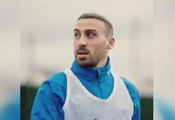 Cenk Tosun yeni takımı Crystal Palaceta ilk idmanına çıktı