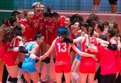 Son dakika | Filenin Sultanları yarı finalde Türkiye, Belçikayı devirdi