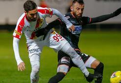 Gergin maçta Alanyaspor, Göztepeyi devirdi