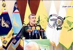 İranlı komutandan ilginç görüntü