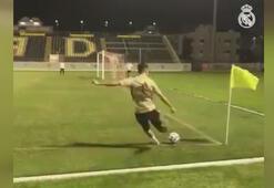 Real Madrid oyuncusu Lucas Vázquezden müthiş gol