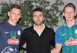 Transfer haberleri | Çaykur Rizesporda Skoda ve Harmash imzayı attı