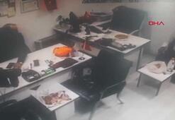 4.8lik depremde vatandaşların yaşadığı korku kamerada