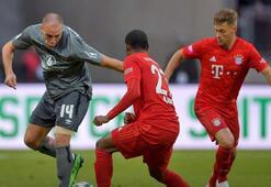Nürnberg, Bayern Münihi dağıttı Michael Frey fitili ateşledi...