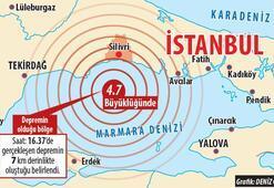 Silivri'de aynı noktada deprem