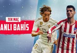 Copa del Rey sahibini buluyor Real Madrid - Atletico Madrid finali canlı bahisle Misli.comda...