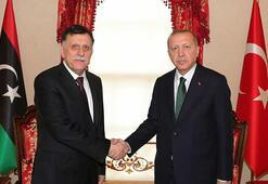 Son dakika... Dolmabahçede Cumhurbaşkanı Erdoğan-Sarrac görüşmesi sona erdi