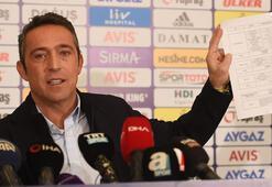 Ali Koç: Fenerbahçeden bu kadar mı korkuyorsunuz
