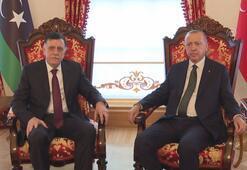 Dolmabahçede Cumhurbaşkanı Erdoğan-Sarrac görüşmesi sona erdi