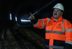 Bakan Varank inceledi Tamamlandığında dünyanın en uzun ikinci tüneli olacak