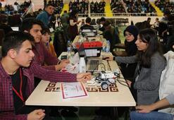 Erzurumda genç mucitler projelerini sergiledi