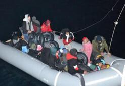 Çeşme açıklarında 131 kaçak göçmen yakalandı
