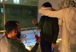Korku evine son duanı et deyip evlenme teklifi yaptı