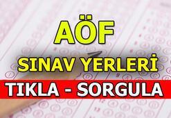 Açık Öğretim Fakültesi sınav giriş yerleri açıklandı AÖF sınav giriş belgesi