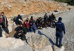 İzmirde 171 göçmen daha yakalandı