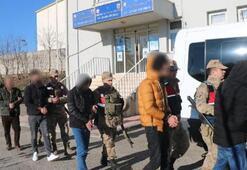 Diyarbakırda PKK operasyonu 8 kişi tutuklandı