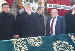 Metin Şentürkün acı vedası Dostları destek oldu
