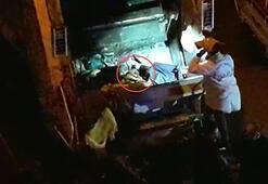 Çöp kamyonundan çıkan cesedin kime ait olduğu araştırılıyor