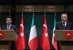 Son dakika... Cumhurbaşkanı Erdoğan-Conte görüşmesi sonrası ortak açıklama