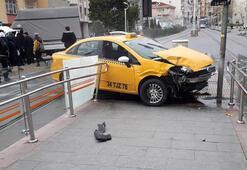Güngörende trafik kazası, tramvay seferleri aksıyor