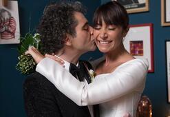 Sıla ve Hazer Amani evlendi İşte ilk görüntüler...